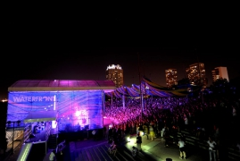 Custom Roof and Stage System for Penns Landing