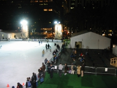 Ice Rink Subfloor and Surround for Bryant Park