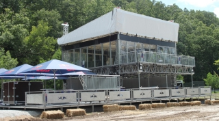 2-Story Structure for AMA National Championship  Race