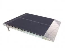 1' x 4' Diamond Plate Starter Ramp