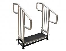 1 Step Fixed Height Stair Unit w/ Custom HR