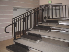 Custom Steel Guardrail System