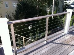 Custom Wire Rope Guardrail