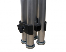 4-Way Leg Clamp for Fixed Height Legs
