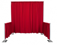 Booth Style Pipe & Drape
