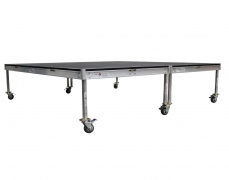 8' x 8' Rolling Riser - Side View