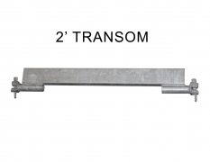 2' TRANSOM