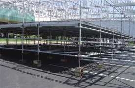 36ft x 52ft Quad Layher Scaff Stage