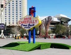 Las Vegas Sign - Back