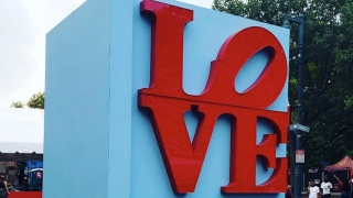 "Made in America ""LOVE"" Sign"