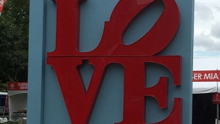 Made in America LOVE sign