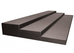3 Tiered Carpeted Riser with Side Closure Panels