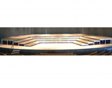 4 Tiered Plyron Musician Riser for Boston Symphony  Orchestra