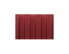 Box Pleat Style Wyndham Stage Skirting