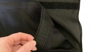 Backside of Adjustable Skirt