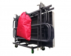 Stage Skirting Storage Bag Attached to Cart