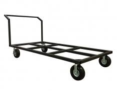 """15 Deck Flat Cart w/ 10"""" Foam Filled Pneumatic Tires"""