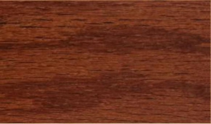 "Tongue & Groove-Gunstock: 3/8"" x 3"" engineered hardwood floor planks are glued to a 3/4"" thick 11-Ply marine grade plywood base."