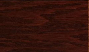 "Tongue & Groove-Cherry: 3/8"" x 3"" engineered hardwood floor planks are glued to a 3/4"" thick 11-Ply marine grade plywood base."