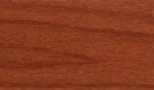 "Tongue & Groove-Butterscotch: 3/8"" x 3"" engineered hardwood floor planks are glued to a 3/4"" thick 11-Ply marine grade plywood base."