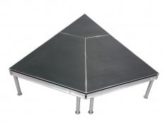 Non-Skid Quad Ripple Triangular Stage