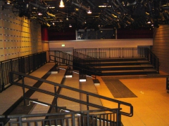 Custom Tiered Seating Riser-Shakespeare production