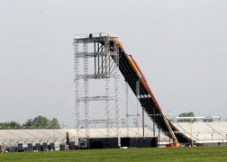 Tower, Take Off and Landing Ramp for Hot Wheels 2011