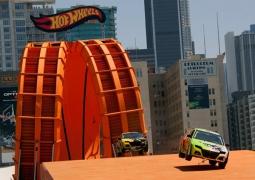 """60ft Custom Steel Loops """"Double Loop Dare"""" for Hot Wheels 2012"""