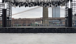 Main Stage for Pier 17, NYC, 2018