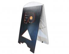Plinko Board for the Philadelphia Flyers - Back View
