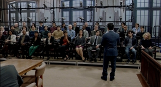 "Our gray carpet riser system on the set of ""Bull"" on CBS, 2016"