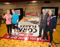 Custom Ramp for anevent featuring the 2014 Kellog's Team USA & Olympic Medalist Noelle Pikus-Pace